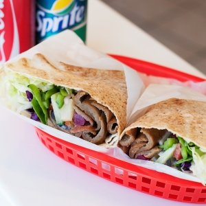 Donair Toasted Wrap