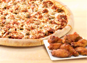 Sarpinos Pizza and Wings Deal