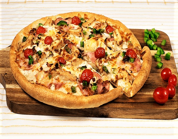 Sarpinos Ranch Style Chicken Pizza