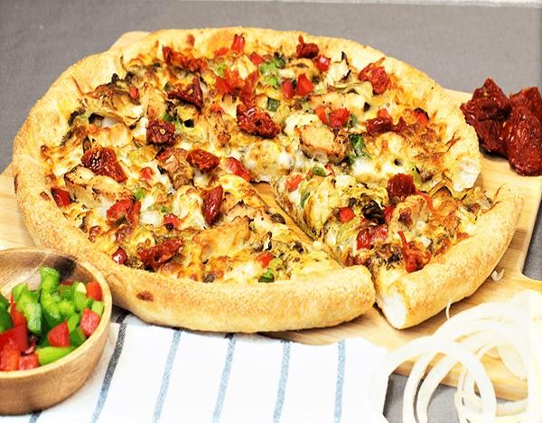 Sarpinos Euro Veggie Deluxe Pizza